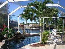 Ferienhaus mit Pool in Cape Coral, Florida