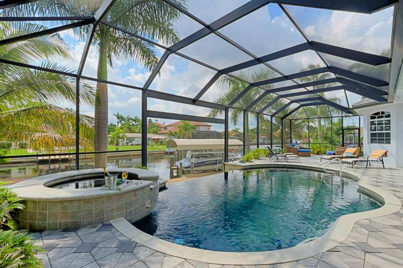Ferienhaus in Cape Coral - Villa Palm Residence