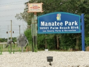 Manatee-Park bei Fort Myers, Florida