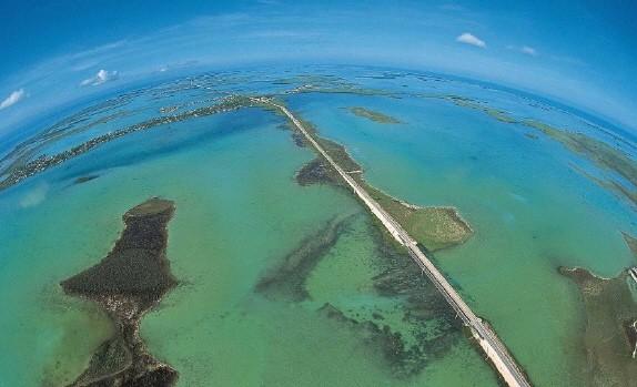 Florida Keys aus der Vogelperspektive