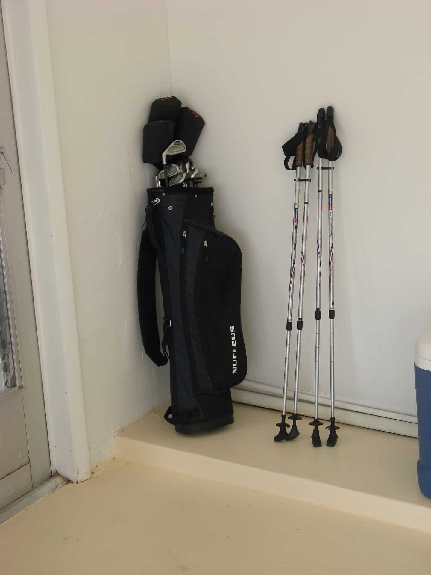 Eine unserer Golfausrüstungen
