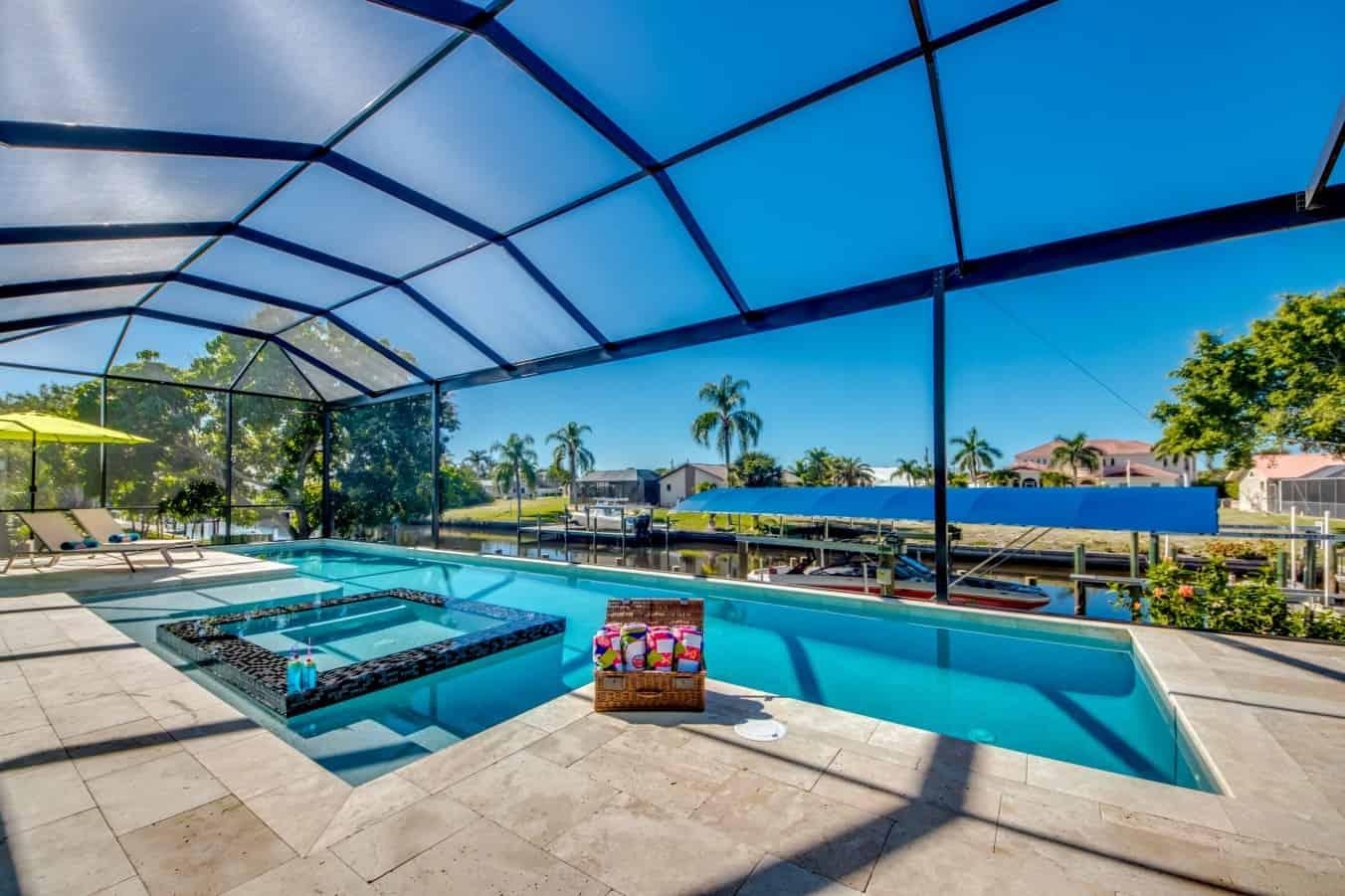 Ferienhaus mit Pool in Cape Coral