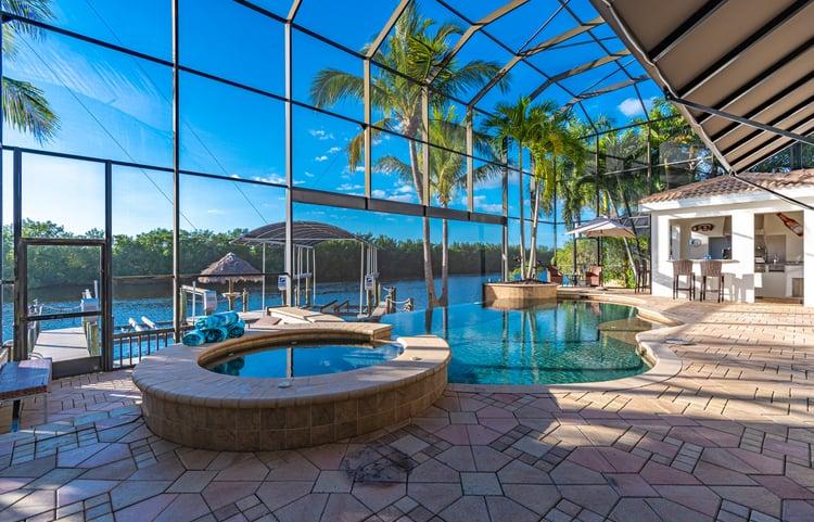 Villa Palm Garden in Cape Coral